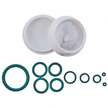 Blue Water Sports - Scuba Diving Viton O-Rings - 10 Pack of Mixed Sizes with Container